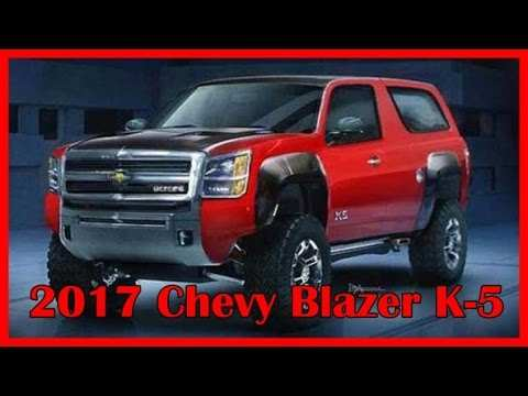 62 Concept of 2020 Chevy K5 Blazer Release Date by 2020 Chevy K5 Blazer