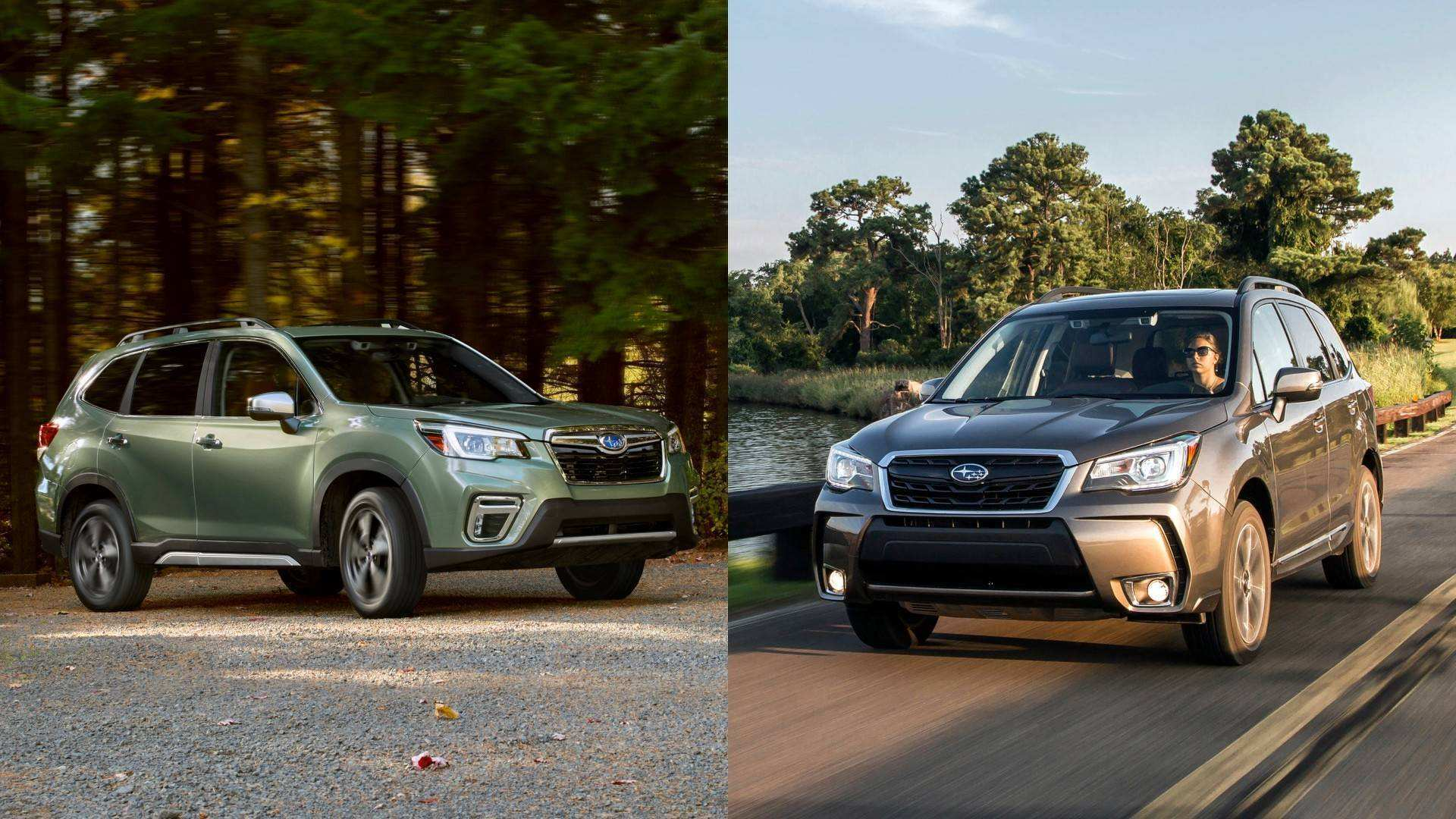 62 Great 2018 Vs 2020 Subaru Forester New Concept for 2018 Vs 2020 Subaru Forester