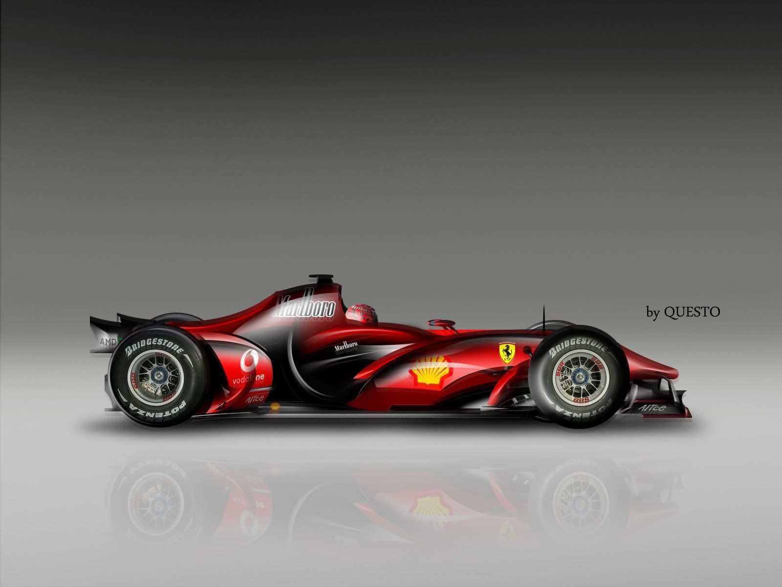 62 The Mercedes 2020 F1 Speed Test by Mercedes 2020 F1