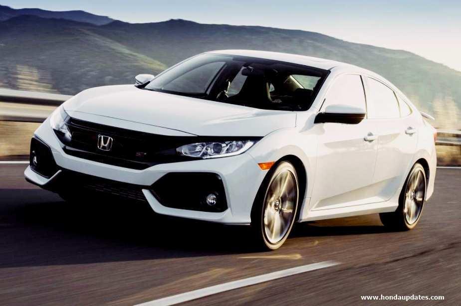 63 All New 2020 Honda Civic Si Sedan Spesification by 2020 Honda Civic Si Sedan