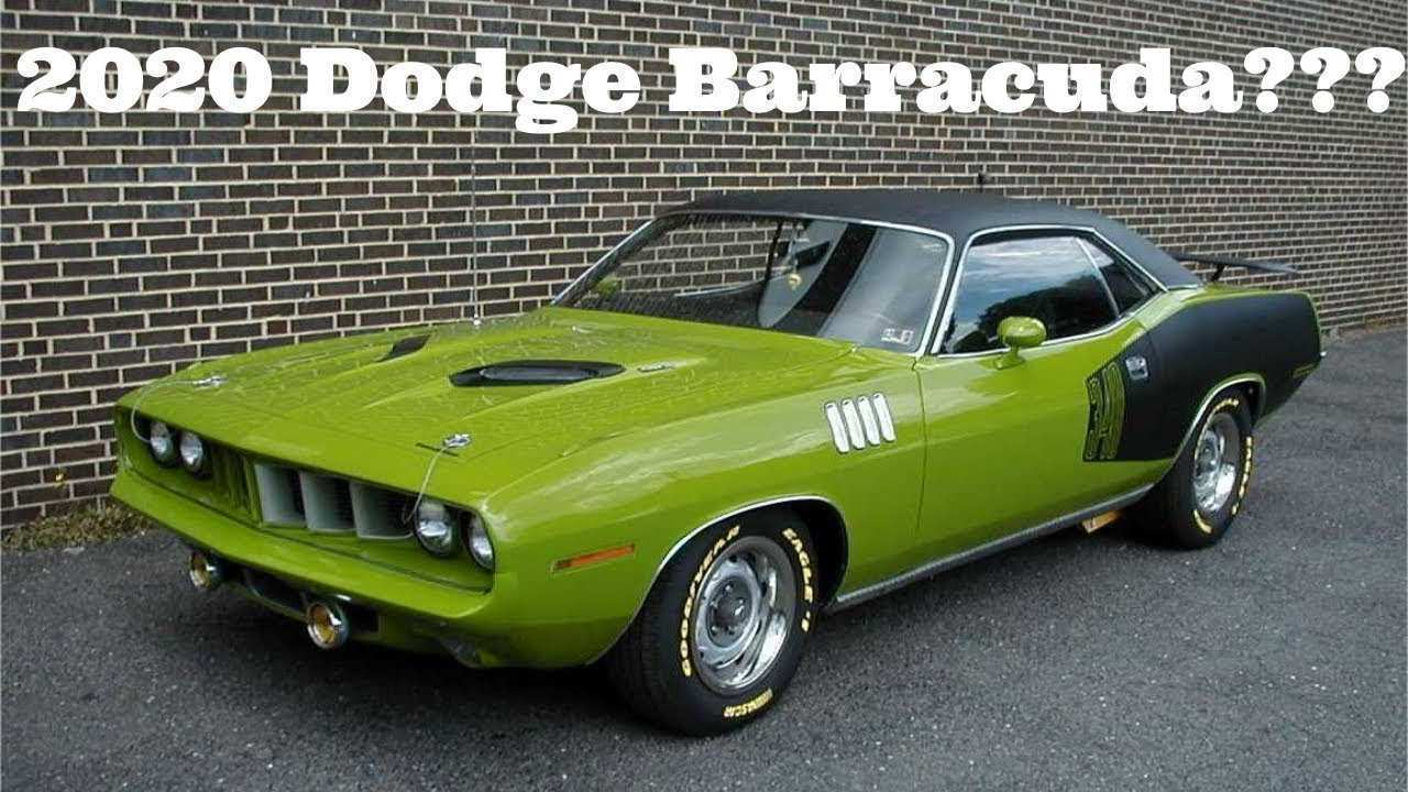 63 Best Review 2020 Dodge Barracuda Picture with 2020 Dodge Barracuda
