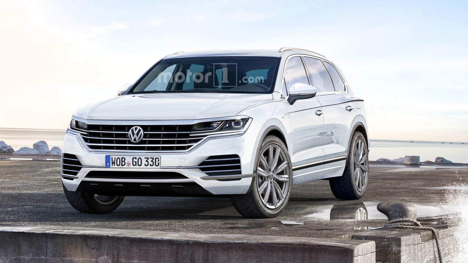 63 New 2020 VW Touareg Concept by 2020 VW Touareg