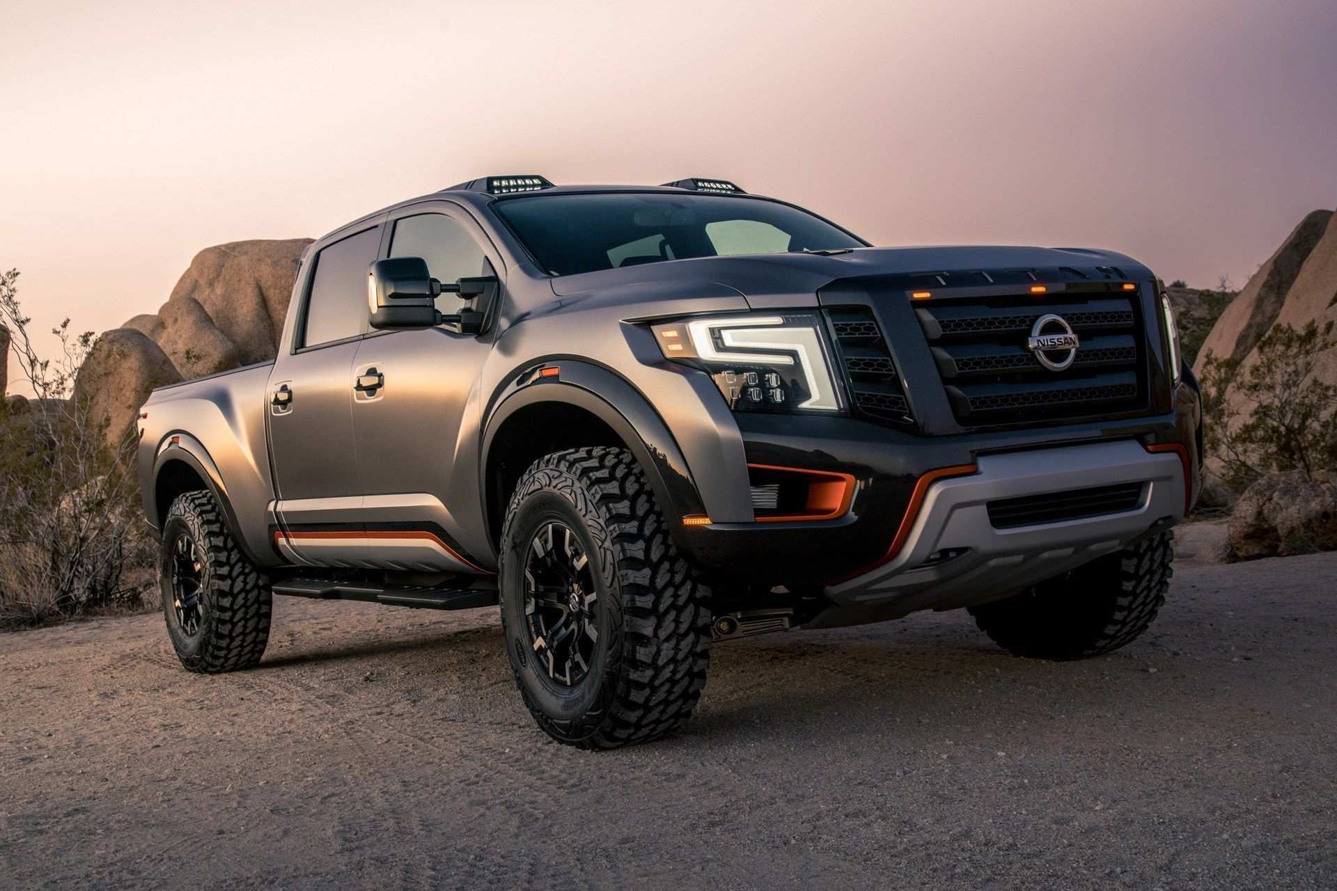 64 The 2020 Nissan Titan New Concept Exterior by 2020 Nissan Titan New Concept