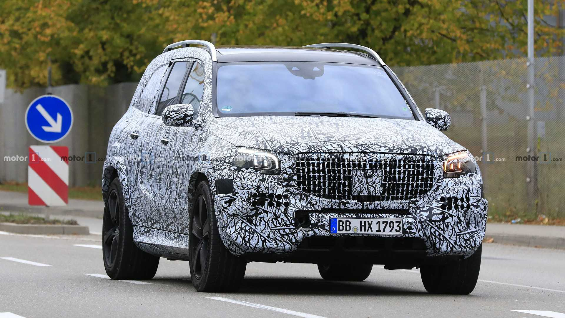 65 New Mercedes Maybach Gls 2020 Spy Shoot by Mercedes Maybach Gls 2020