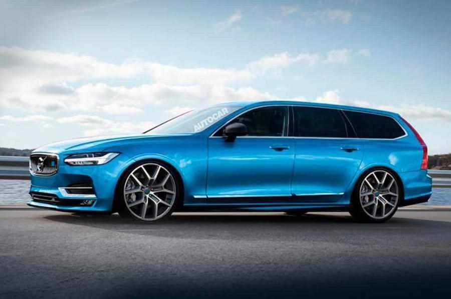 66 Concept of Volvo V90 2020 Exterior with Volvo V90 2020
