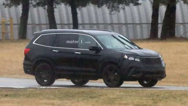 66 The 2020 Honda Pilot Spy Photos First Drive by 2020 Honda Pilot Spy Photos