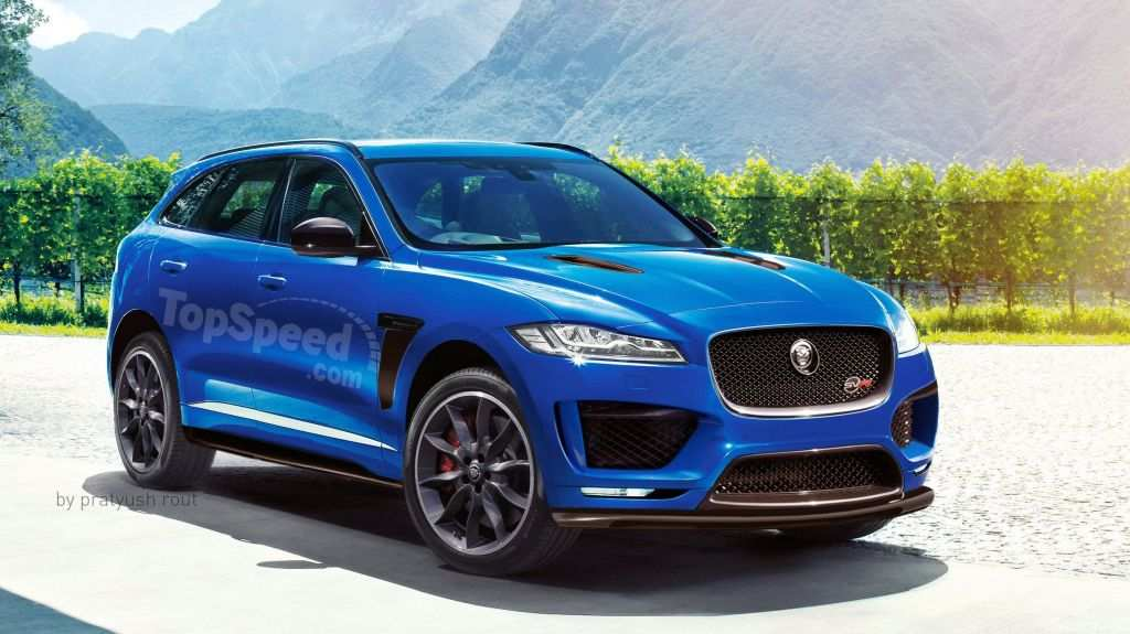 68 Best Review 2020 Jaguar F Pace Svr Exterior Interior by 2020 Jaguar F Pace Svr Exterior