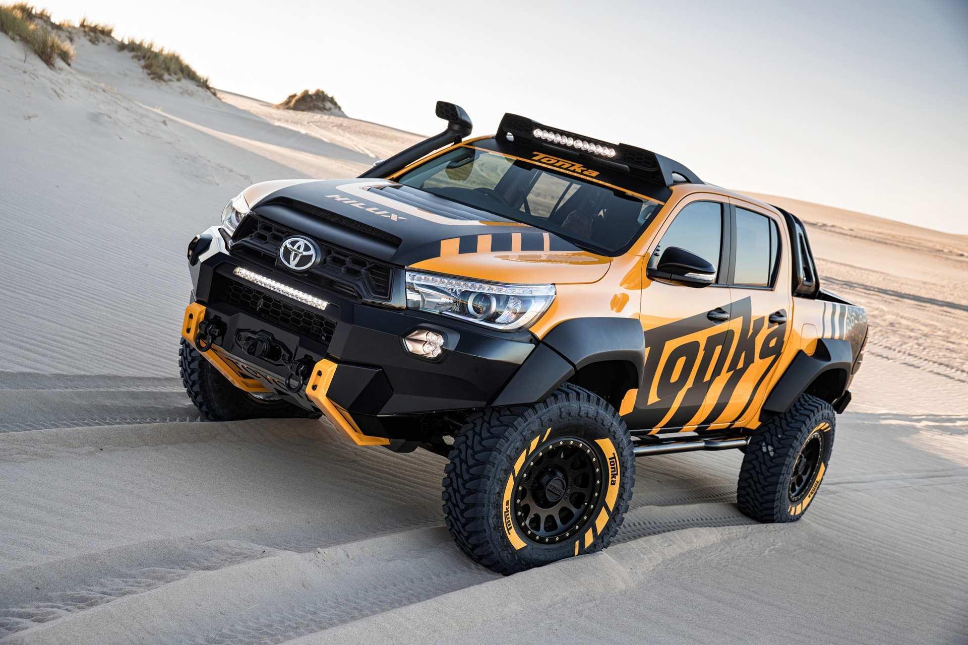 2020 Toyota Hilux Spy Shots Speed Test