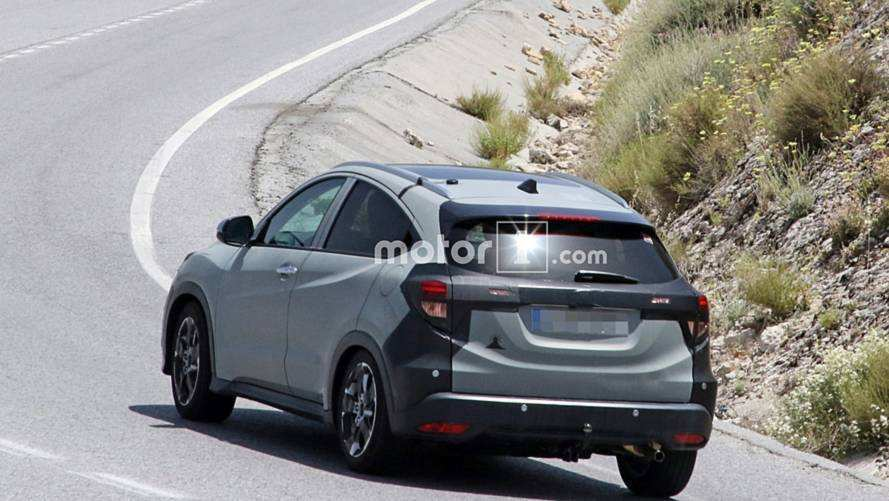 69 All New 2020 Honda HR V Spy Shoot for 2020 Honda HR V