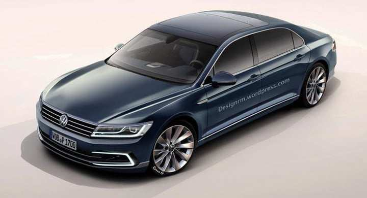 70 Concept of VW Phaeton 2020 Style with VW Phaeton 2020