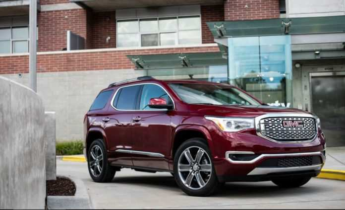 71 All New 2020 Gmc Acadia Denali Specs and Review with 2020 Gmc Acadia Denali