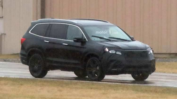 71 New 2020 Honda Pilot Spy Photos New Concept by 2020 Honda Pilot Spy Photos