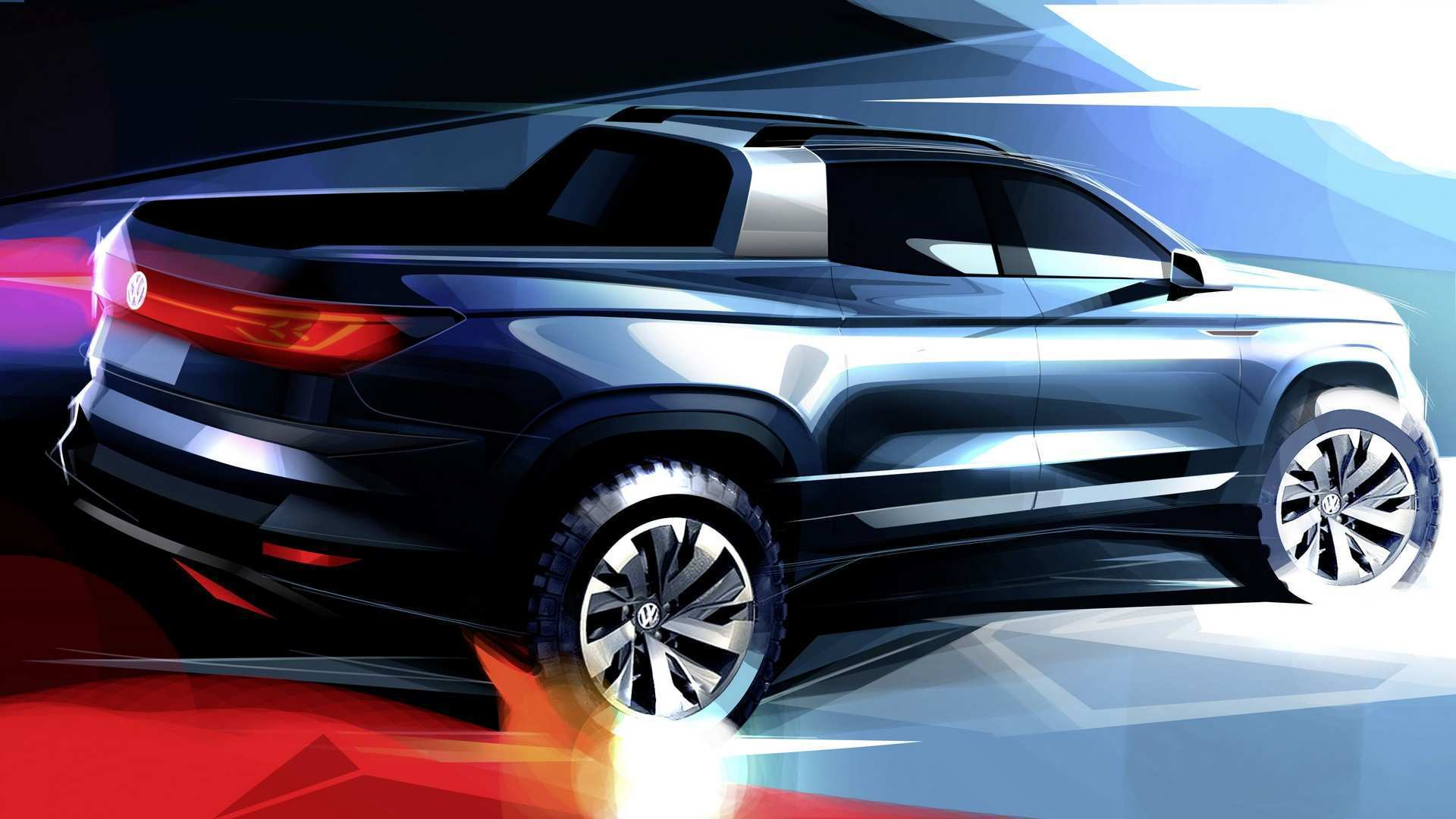 71 The Volkswagen Truck 2020 Concept by Volkswagen Truck 2020