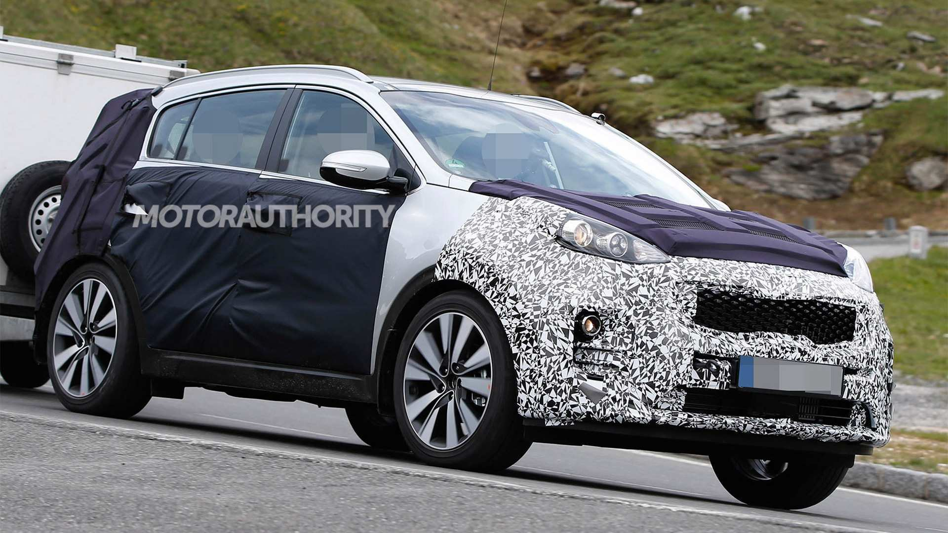 72 All New 2020 KIA SportageSpy Shots Spy Shoot by 2020 KIA SportageSpy Shots