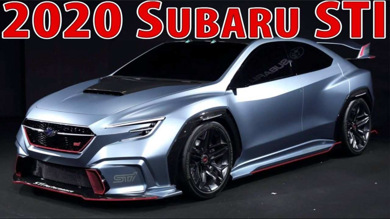 72 All New 2020 Subaru Brz Sti Rumors by 2020 Subaru Brz Sti