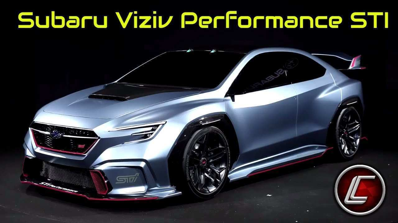 73 Concept of Subaru Sti 2020 Exterior Photos for Subaru Sti 2020 Exterior