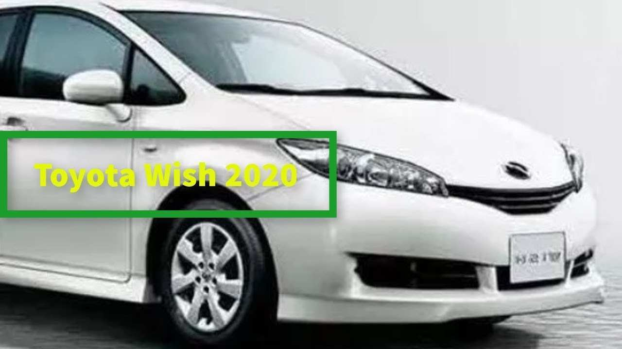 73 Concept of Toyota Wish 2020 Images with Toyota Wish 2020