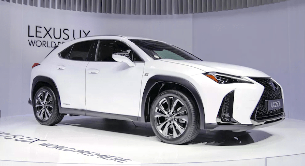 73 Gallery of 2020 Lexus Ux Exterior Canada Spy Shoot with 2020 Lexus Ux Exterior Canada