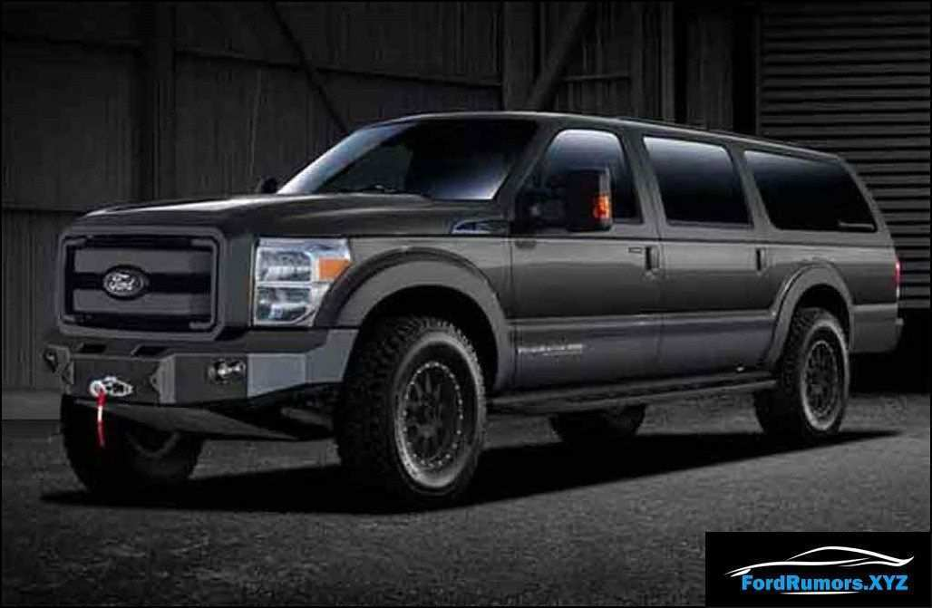 73 Great 2020 Ford Excursion Research New by 2020 Ford Excursion