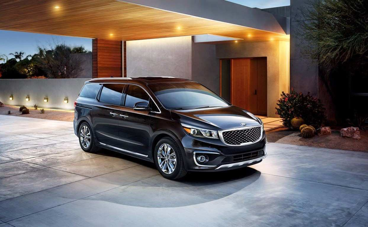 73 Great 2020 Kia Carnival 2018 Interior for 2020 Kia Carnival 2018