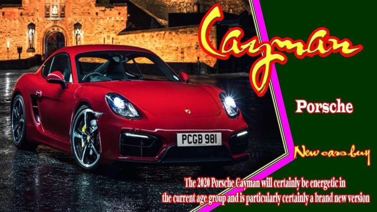 73 The 2020 Porsche Cayman Price by 2020 Porsche Cayman