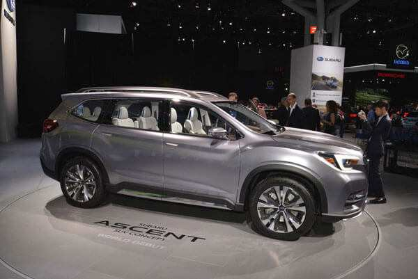 74 Concept of 2020 Subaru Ascent Exterior History by 2020 Subaru Ascent Exterior