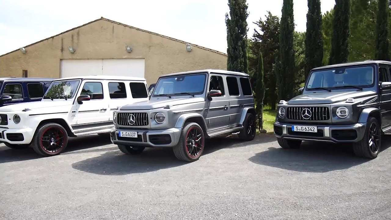 74 The Mercedes G 2020 Exterior Concept by Mercedes G 2020 Exterior