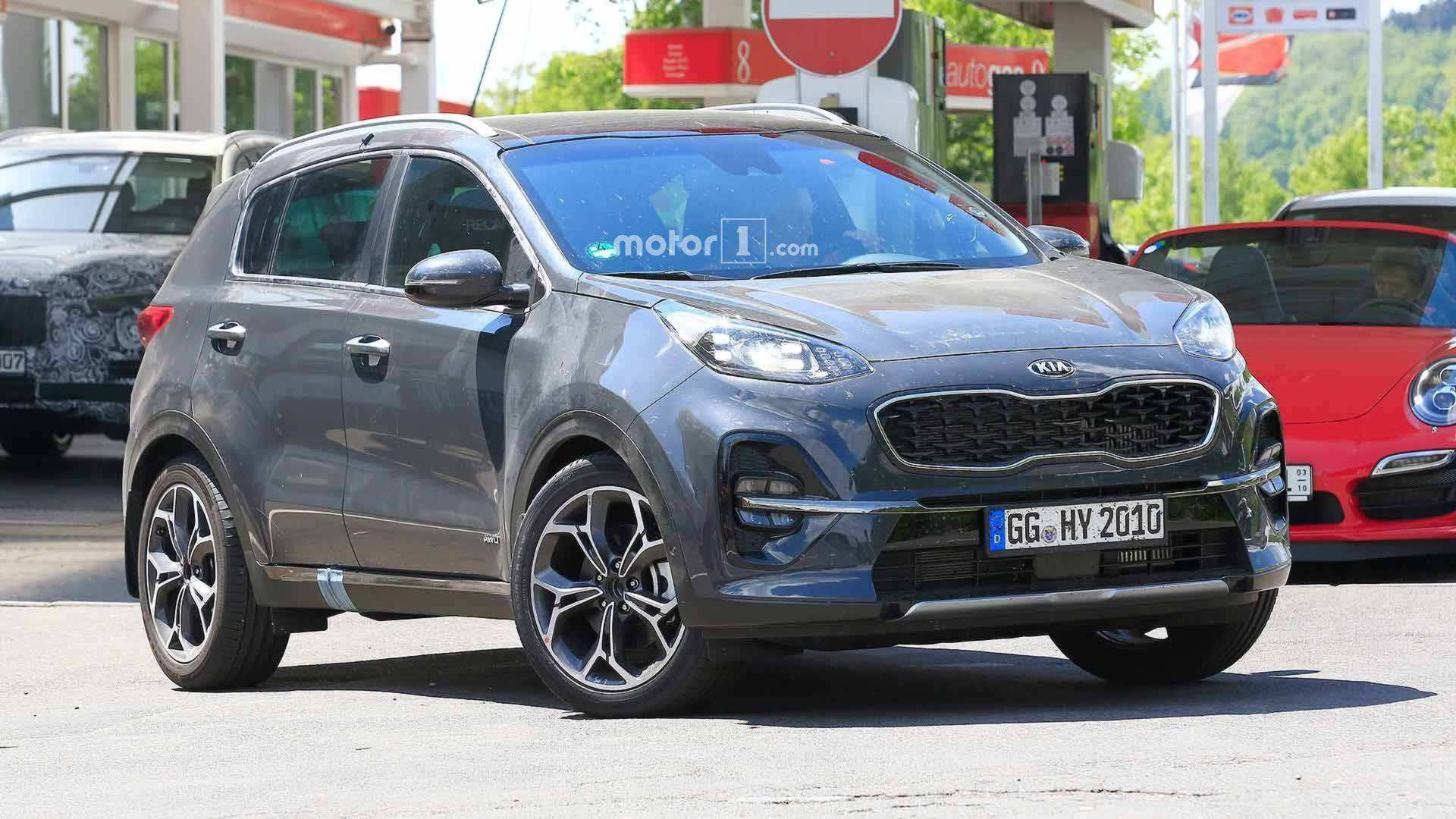 75 Best Review 2020 KIA SportageSpy Shots First Drive by 2020 KIA SportageSpy Shots