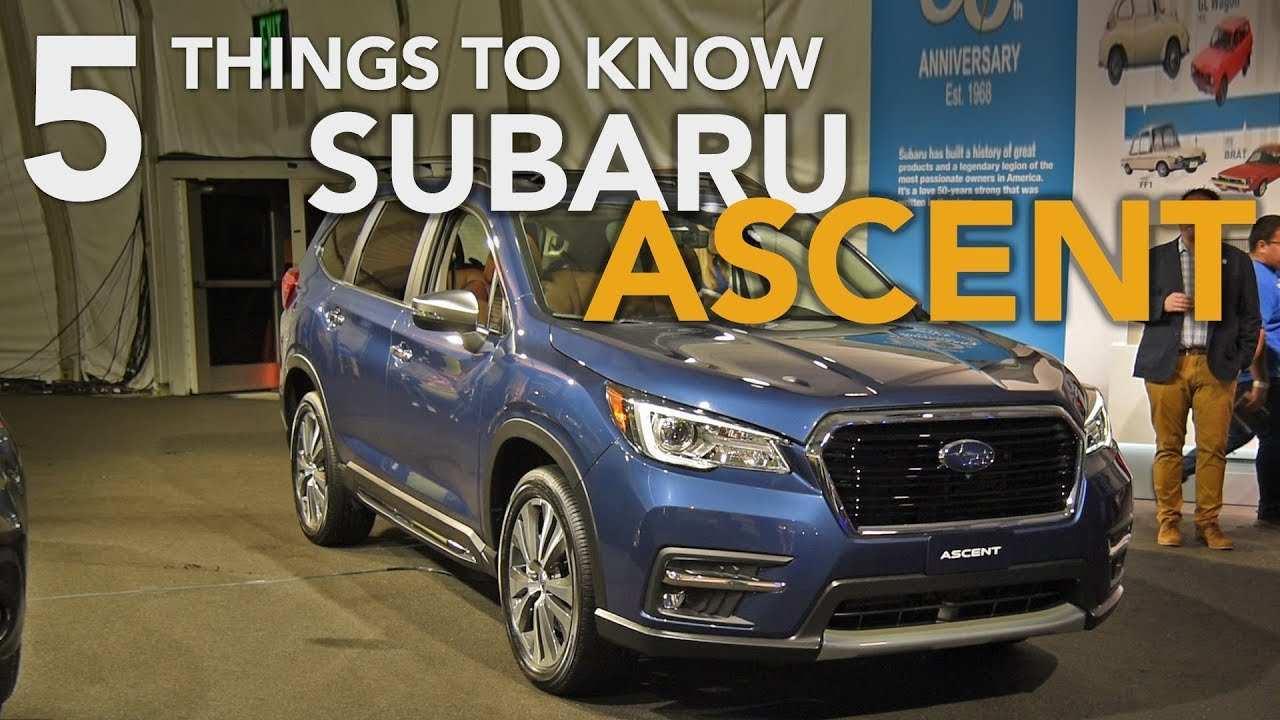 75 Concept of 2020 Subaru Ascent Exterior Performance and New Engine for 2020 Subaru Ascent Exterior