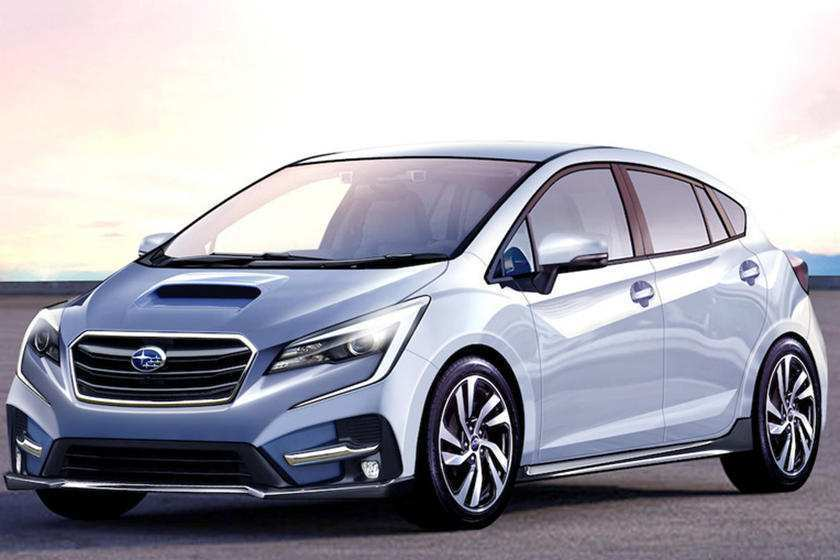 75 New Subaru 2020 Hatchback Spy Shoot by Subaru 2020 Hatchback
