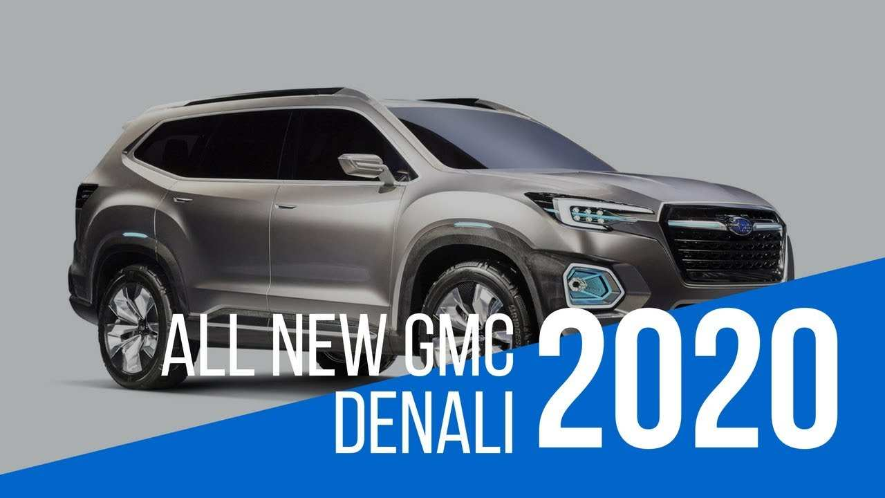 75 The 2020 GMC Yukon XL Redesign for 2020 GMC Yukon XL