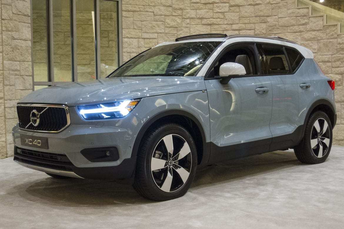 76 All New 2020 Volvo Xc40 Gas Mileage Pricing by 2020 Volvo Xc40 Gas Mileage