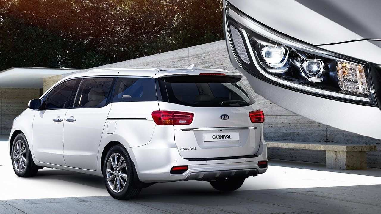 76 Best Review Kia Grand Carnival 2020 Exterior Spy Shoot by Kia Grand Carnival 2020 Exterior