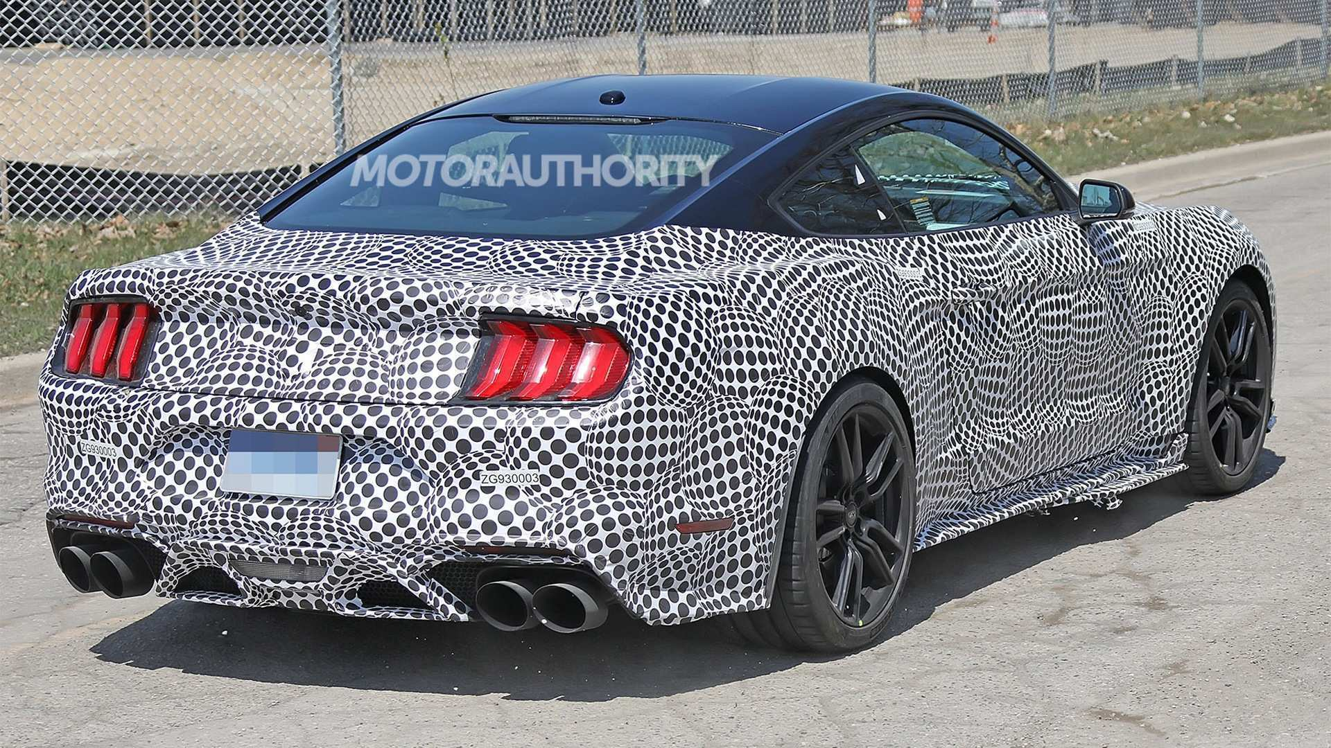 2020 The Spy Shots Ford Mustang Svt Gt 500 Interior