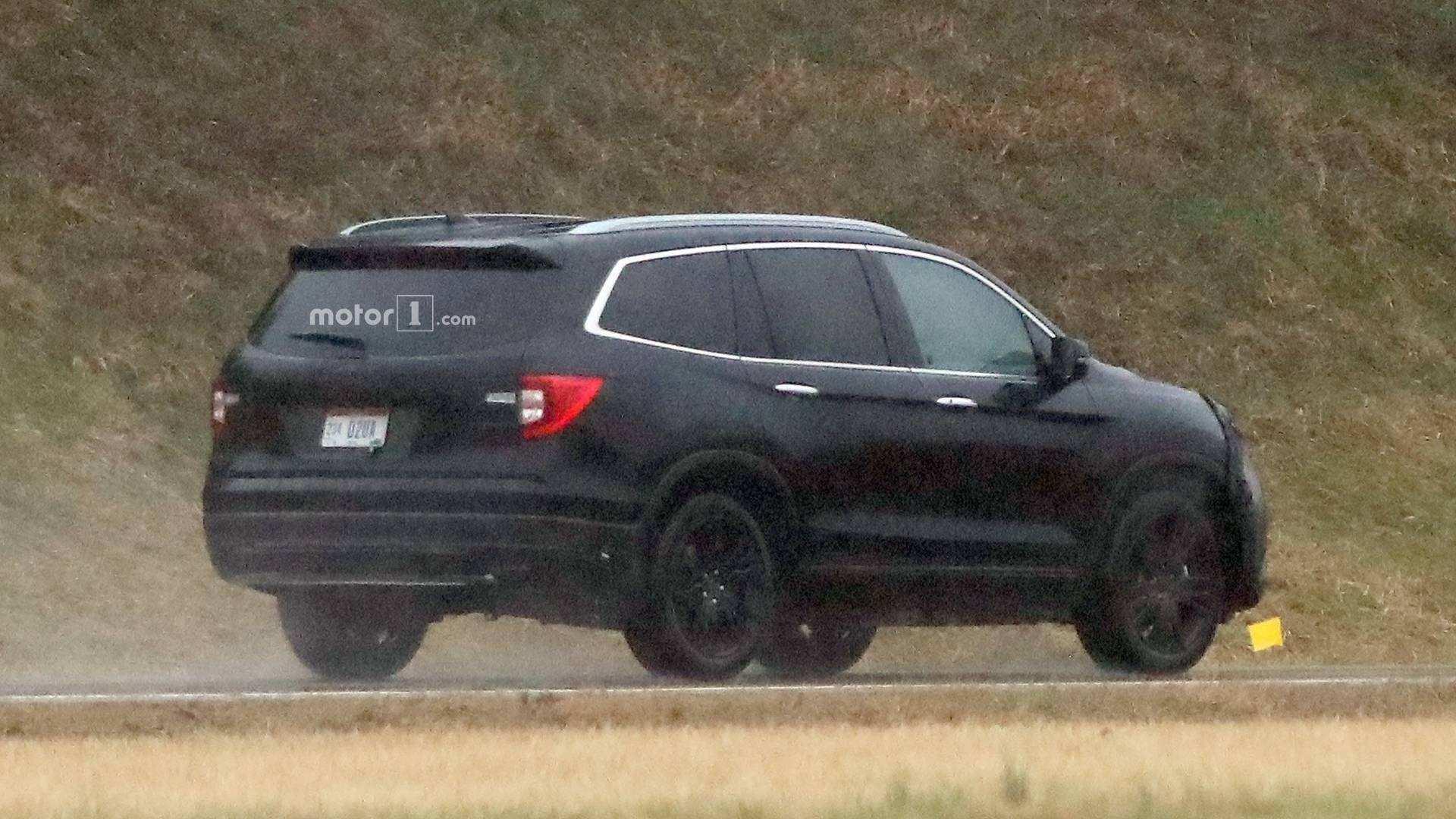 78 New 2020 Honda Pilot Spy Specs and Review with 2020 Honda Pilot Spy