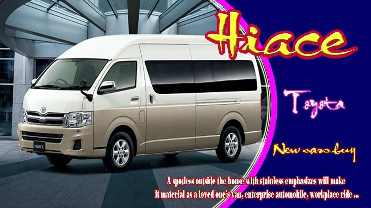 79 Concept of Toyota Hiace 2020 Configurations by Toyota Hiace 2020