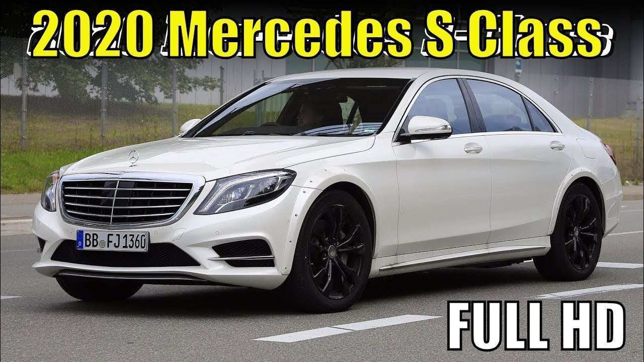 81 Best Review Mercedes S Class 2020 Exterior and Interior with Mercedes S Class 2020
