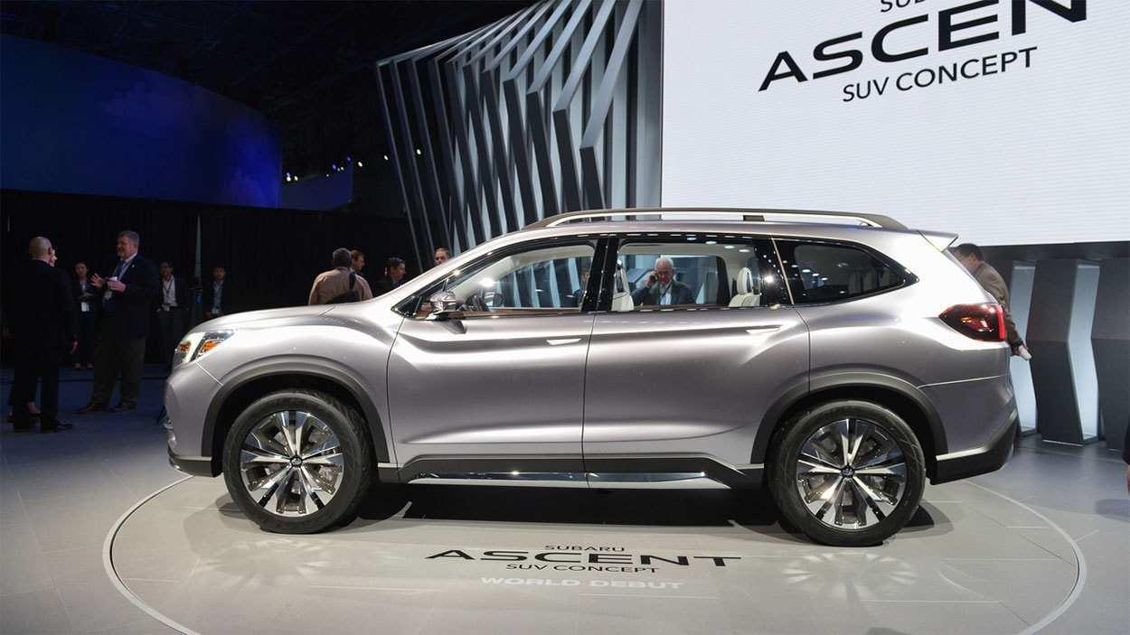81 Concept of 2020 Subaru Ascent Exterior Exterior Release for 2020 Subaru Ascent Exterior Exterior