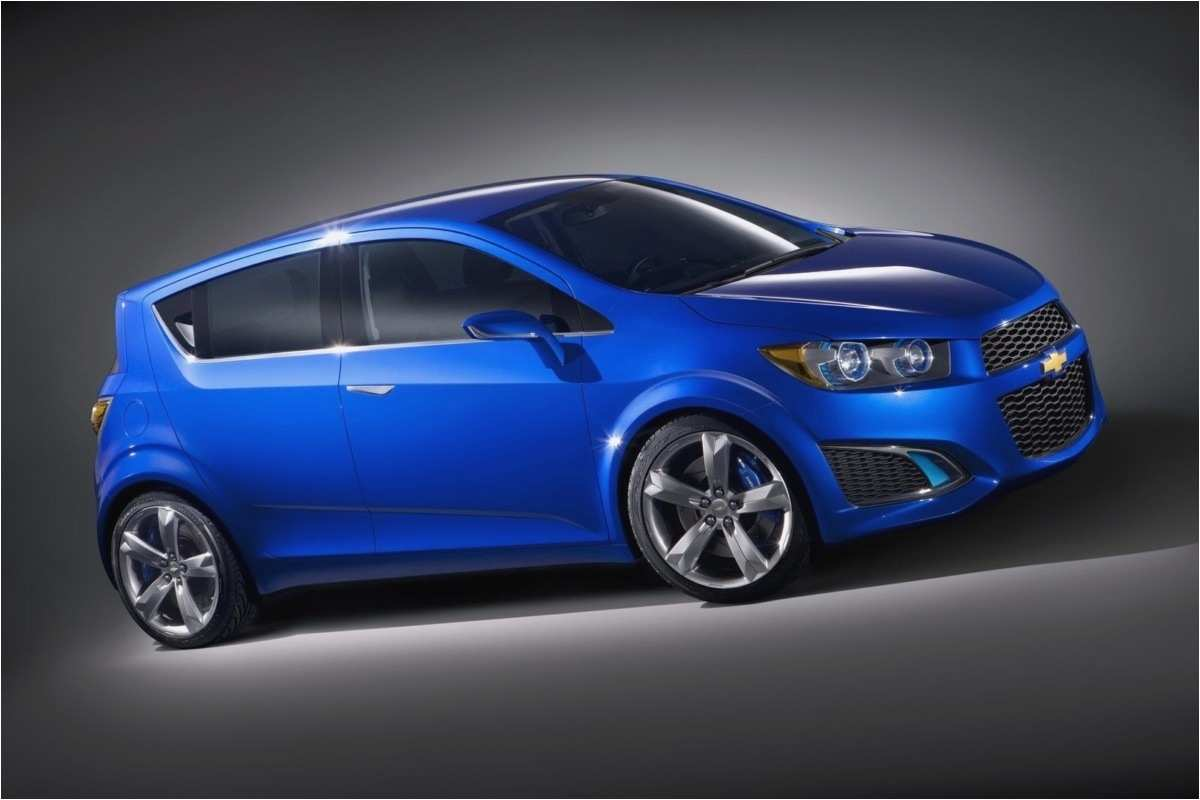 2020 Chevy Sonic Ss Ev Rs Exterior and Interior