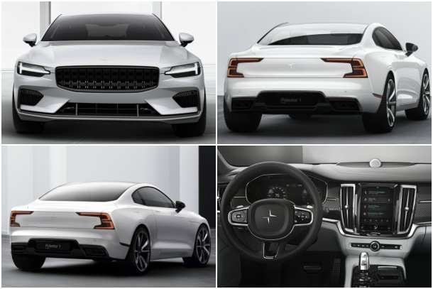81 The 2020 Volvo Polestar 1 Redesign and Concept for 2020 Volvo Polestar 1
