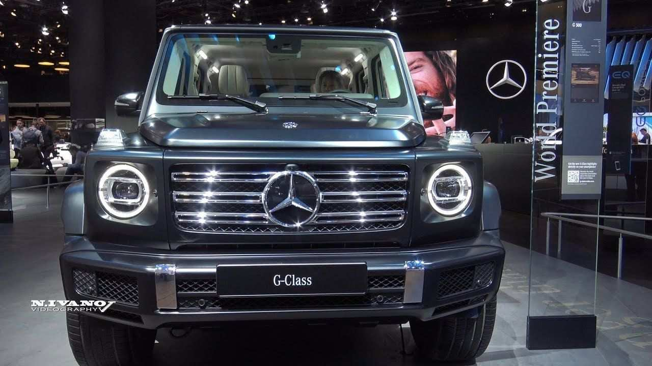 81 The Mercedes G 2020 Exterior Performance and New Engine with Mercedes G 2020 Exterior