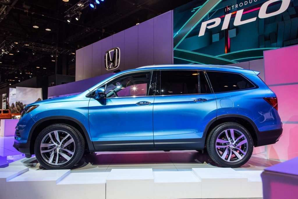 82 Best Review 2020 Honda Pilot Spy Photos Redesign for 2020 Honda Pilot Spy Photos