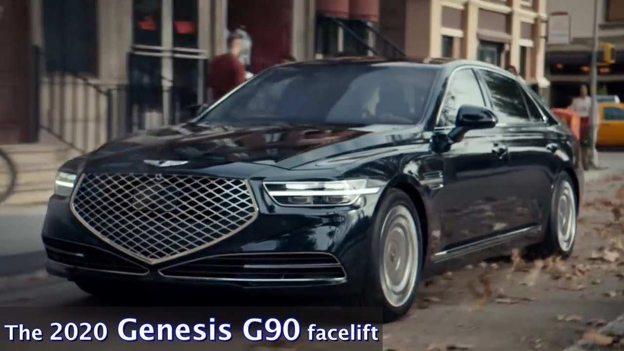 82 Best Review 2020 Kia Genesis Performance and New Engine for 2020 Kia Genesis