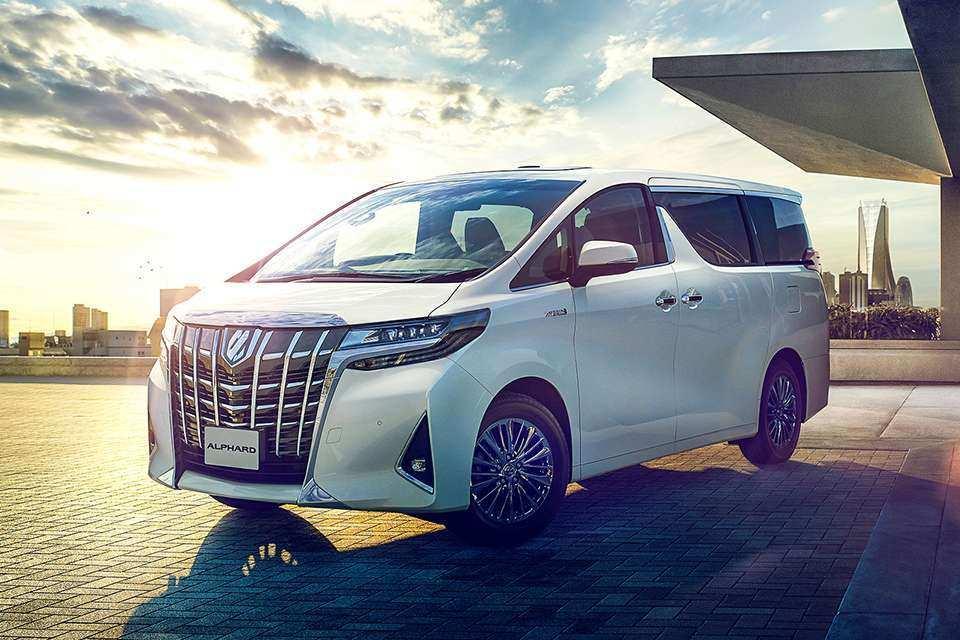 82 Concept of 2020 Toyota Alphard 2018 Exterior for 2020 Toyota Alphard 2018