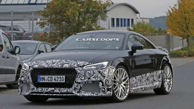 83 Concept of 2020 Audi Tt Rs Overview by 2020 Audi Tt Rs