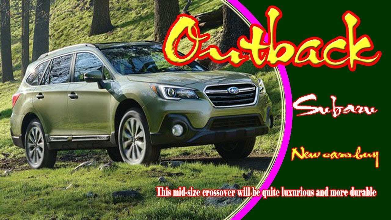83 Concept of 2020 Subaru Outback Youtube Pictures by 2020 Subaru Outback Youtube