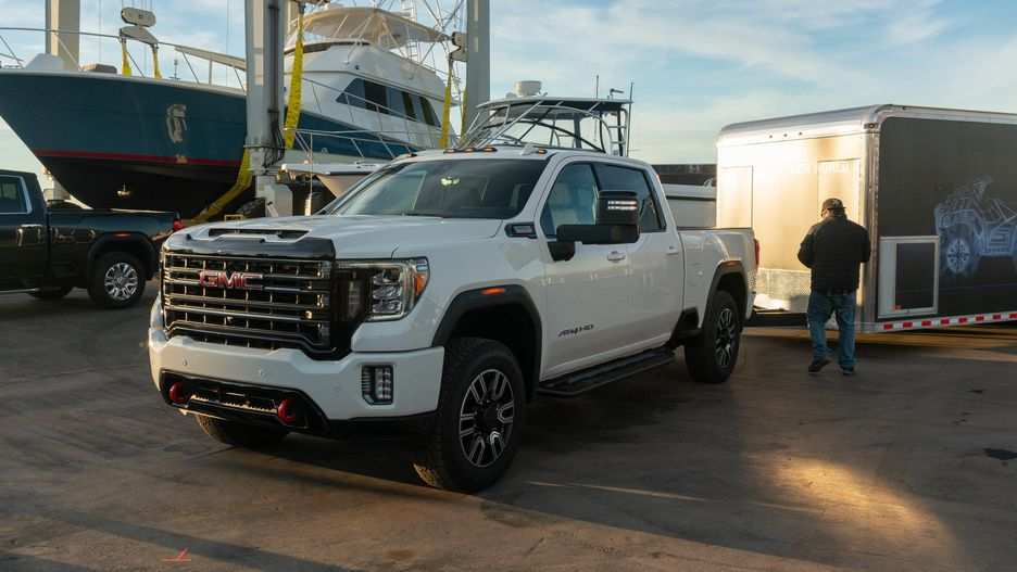 83 Great 2020 GMC Sierra Hd Spy Shoot for 2020 GMC Sierra Hd