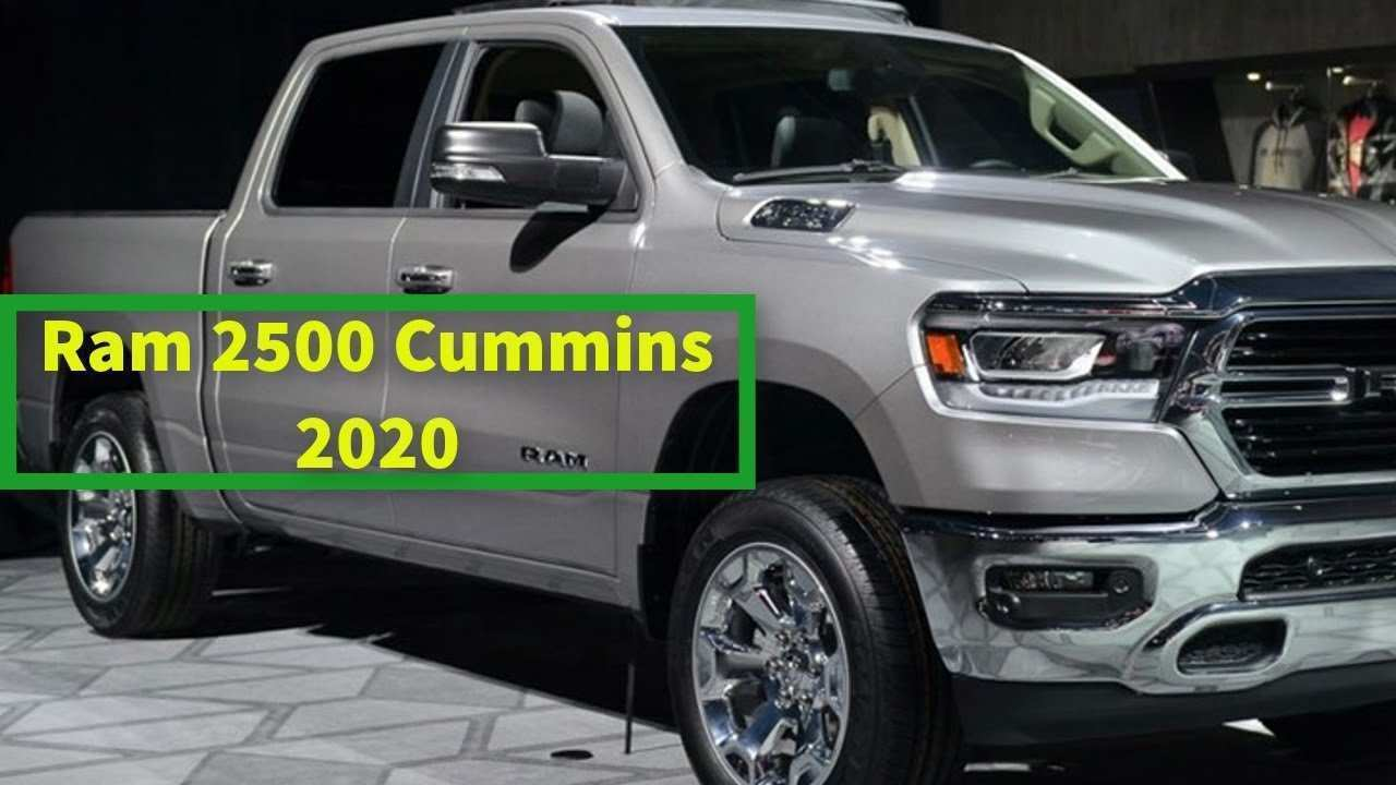 83 The 2020 Ram 2500 Diesel Redesign and Concept by 2020 Ram 2500 Diesel