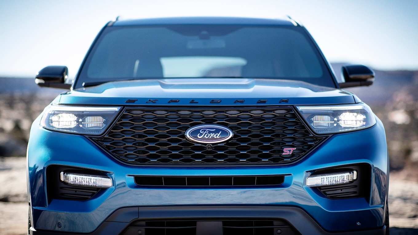 85 Best Review 2020 The Ford Explorer Concept by 2020 The Ford Explorer
