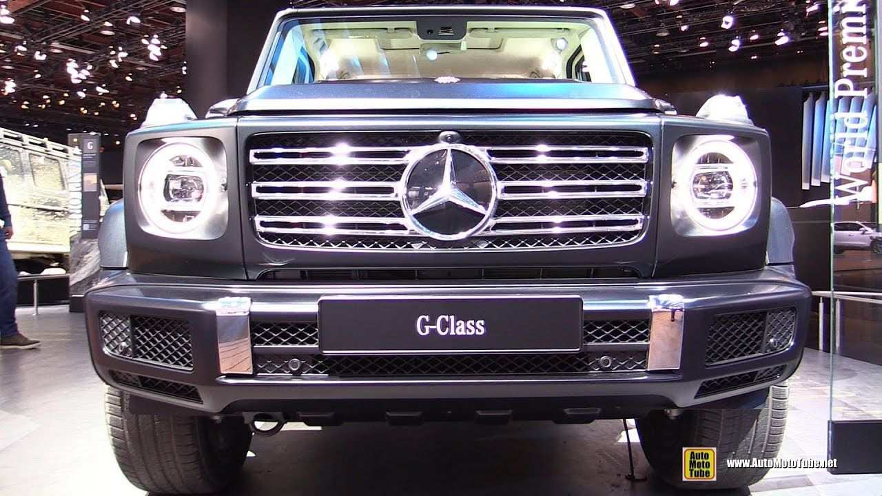 85 Concept of Mercedes G 2020 Exterior First Drive with Mercedes G 2020 Exterior